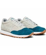 Saucony Jazz Original  Men's Shoe Grey/Teal, Size 8.5 M - £42.26 GBP