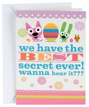 Hallmark Funny Easter Greeting Card With Sound For Kids (hoops And Yoyo Best - $13.47