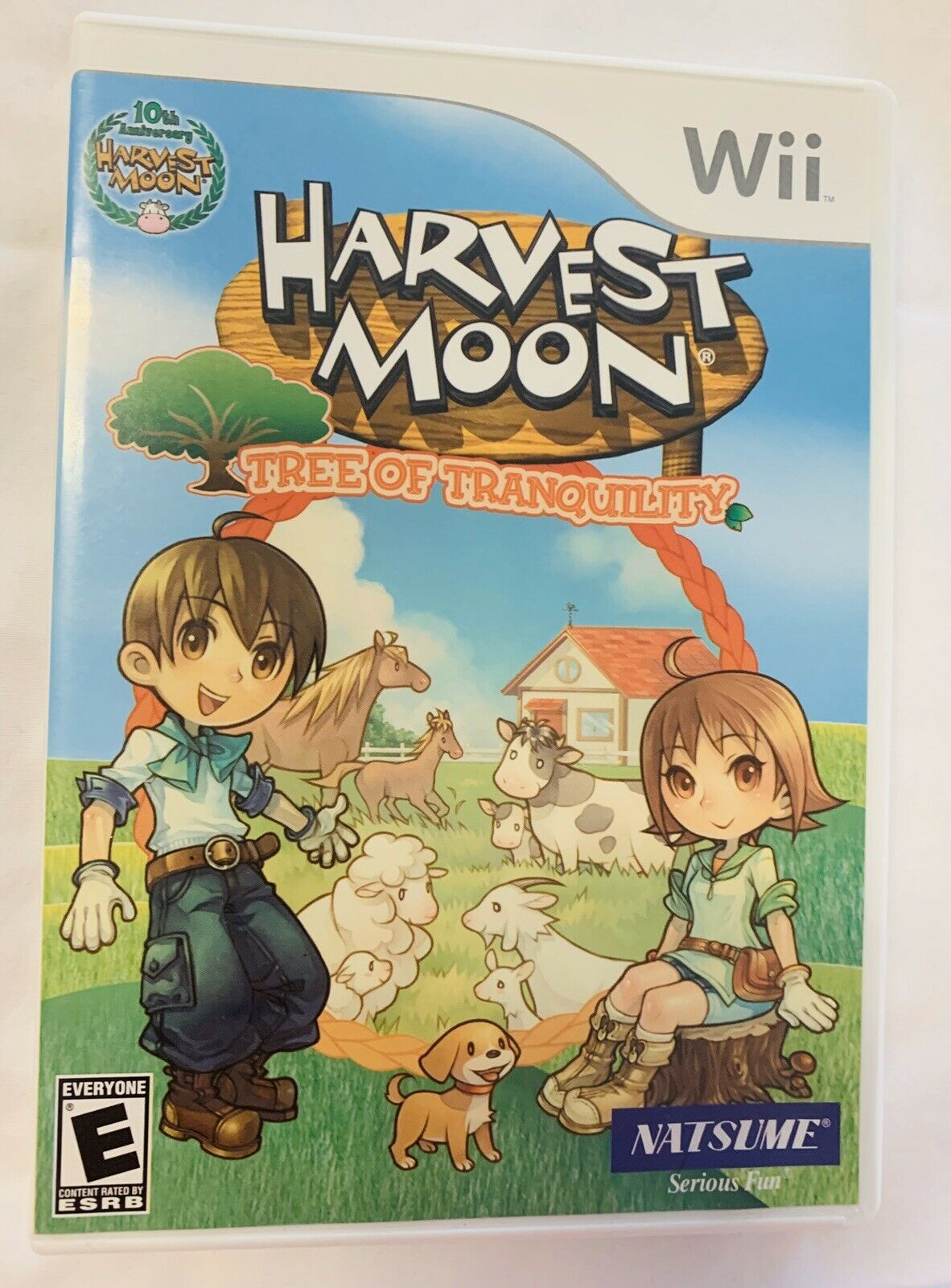 Primary image for Harvest Moon Tree of Tranquility Nintendo Wii