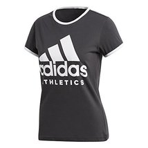 adidas Women Tshirts Running Athletics Sport ID Tee Training Fitness CD7788 (Sma