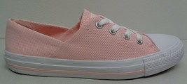 Converse All Star Size 7 CORAL OX Vapor Pink Fashion Sneakers New Womens... - $98.01