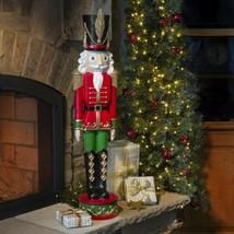 3 Foot Resin Toy Soldier Statue Sculpture Indoor Outdoor Christmas Decor... - $157.90