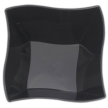 Plastic 14 Oz. Black Wave Soup Bowl/Case of 120 - €62,40 EUR