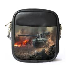 Sling Bag Leather Shoulder Bag World Of Tank Popular War Millitary Animation Mo - $14.00