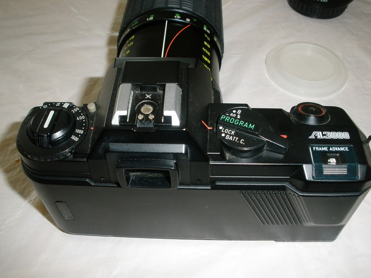 Pentax A3000 - 35mm Camera  - With Attachments