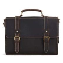 Sale, Vintage Leather Briefcase, Messenger Bag, Satchel Bag, Crossbody Bag image 1