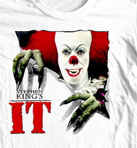 Stephen King's IT T-shirt  Cujo  retro 80's horror movie 100% cotton graphic tee image 1