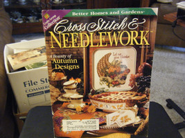 Vintage Cross Stitch & Needlework Magazine - Autumn Designs - October 1997 - $8.39