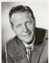 Ralph Bellamy (d. 1991) Signed Autographed Vintage Glossy 8x10 Photo - $29.99