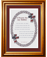 A Prayer For My Soldier cross stitch chart Cody Country CrossStitch - $9.00
