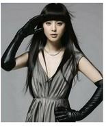 Qi Liu and long straight hair wig natural black - $35.00