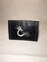 classic golf 100% croc leather credit card wallet new - $1.129,51 MXN