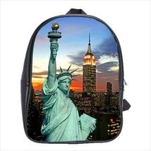 School bag 3 sizes bookbag NY new york statue of liberty souvenir - $39.00+