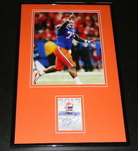Sharrif Floyd Signed Framed Rookie Card & Photo Display Florida Gators V... - $65.09