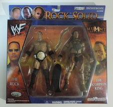 WWE The Rock & The Scorpion King Rock Solid wre... - $24.00