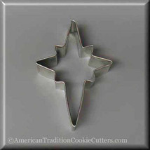 "3.5"" Star of Bethlehem Metal Cookie Cutter #NA1055 - $1.75"