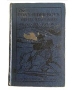 The Pony Rider Boys with the Texas Rangers by Frank Gee Patchin 1920 - $29.69