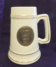 "Hamm's 100year,1865-1965,Medallioin""Heraldo-mug"",Loren Merchison Co.Pawt... - $49.00"
