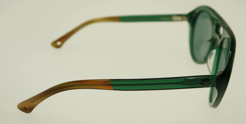 MONCLER MC529-S03 Green & Brown / Green Sunglasses MC 529S-03 image 3
