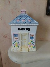 Bakery Cookie Jar House Taiwan ROC glass - $29.99