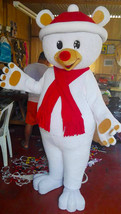 Chritmas Bear Mascot Costume Adult Chritmas Costume For Sale - $299.00
