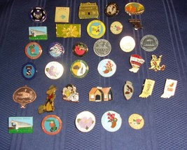 34 Assorted Volkssport AVA Pins Walking Events For Dog Rescue Charity - $9.99