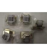 Taymor 20-1431B Brass Adjustable Nylon Jumbo Roller Bullet Catch 5pcs. - $4.95