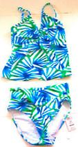Sz 32D/Small - NWT$120 Sunsets Azul Tankini Swimsuit - $71.25