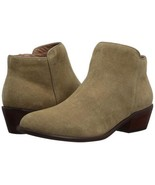 206 Collective Women's Magnolia Suede Low Heel Ankle Bootie, Sand, Sable... - $29.95