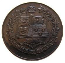 CANADA 1867-1927 CONFEDERATION 60TH ANNIVERSARY BRONZE MEDAL XF GRADE - $9.99