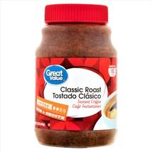 Great Value Classic Roast Instant Coffee Medium Roast 180 Cups 12 oz - $14.80