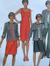 Butterick Sewing Pattern 5719 Misses Jacket Dress Skirt Pants Size 8-16 New - $17.13