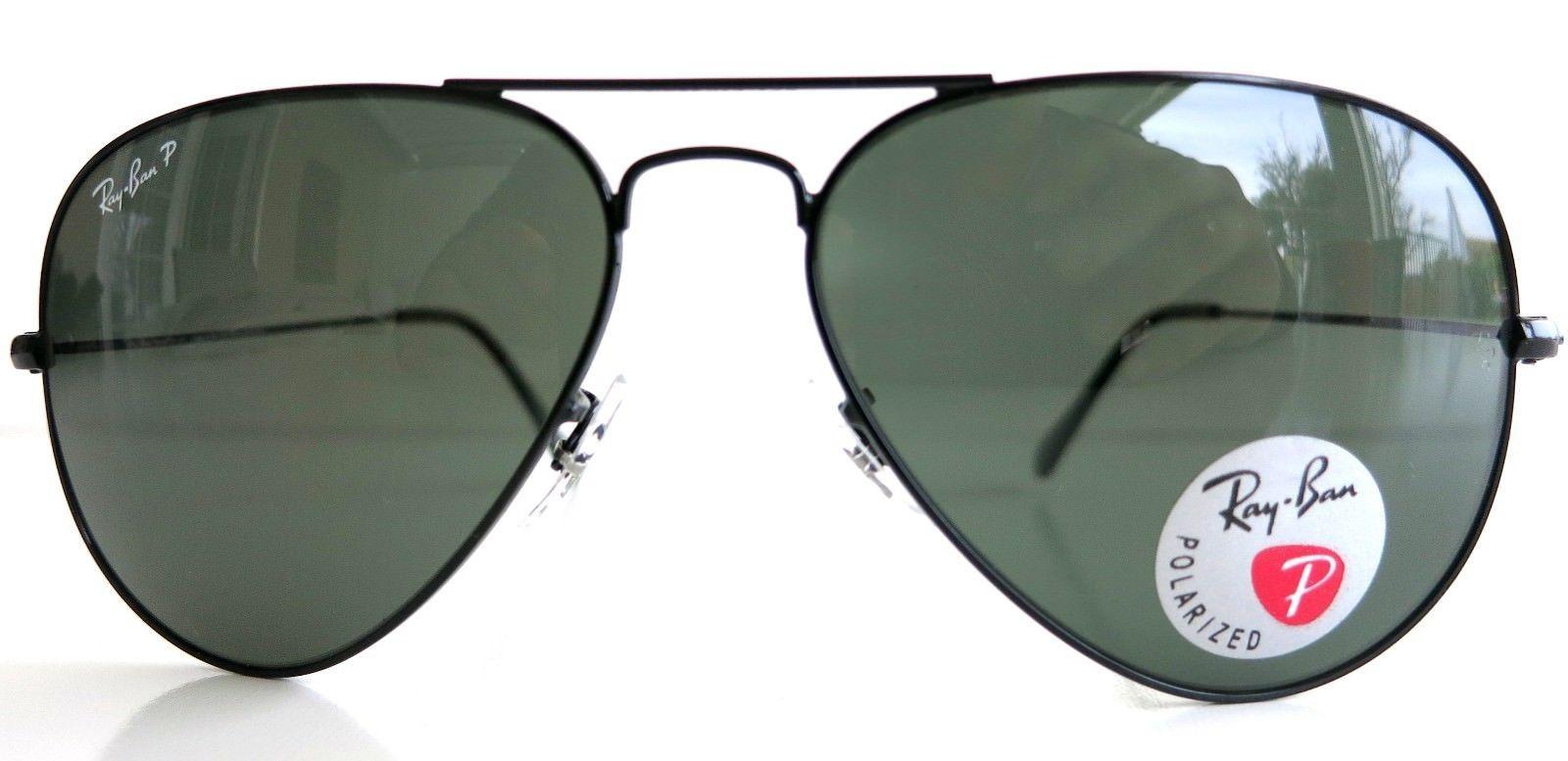 6784403101c03 S l1600. S l1600. Previous. Ray-Ban Aviator Polarized 3025 002 58 Aviator  Dark Frame Dark Lenses Sunglasses