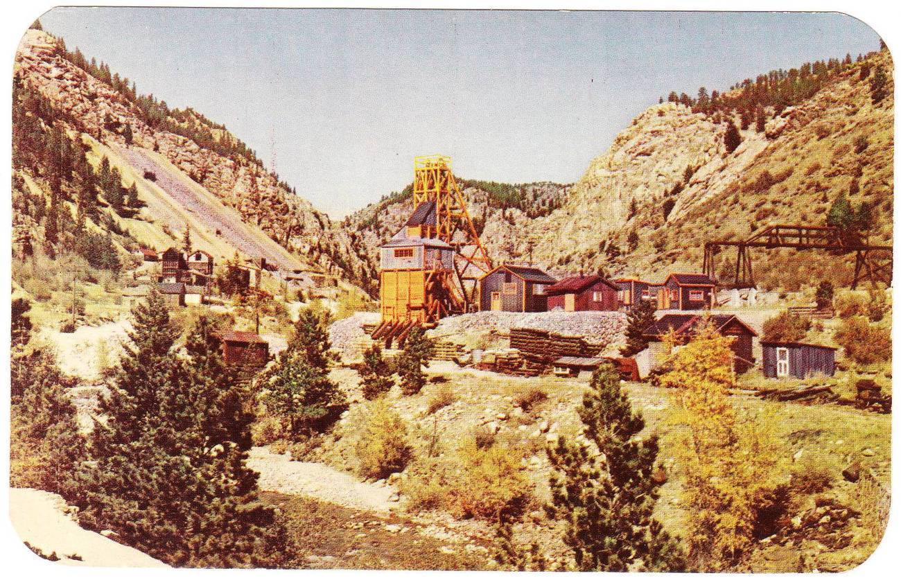 Vintage Postcard Gold Mining San Francisco California CA