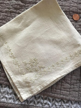 Vintage Natural linen Napkin - $10.00