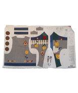 Womens Bird House Vest Fabric Panel   Size S-XL - $10.00