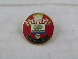 Vintage Southampton Fc Pin - Featuring Team Crest - Inlaid Pin - $15.00