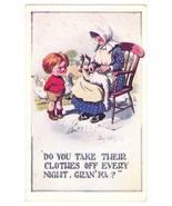 Vintage humor goose postcard 1 thumbtall