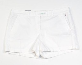 Tommy Hilfiger White Casual Cotton Shorts Women's 12 NWT - $37.49