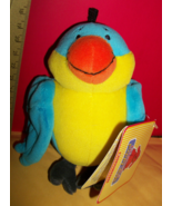 Clifford Big Red Dog Plush Toy Norville Scholastic Stuffed Animal Parrot... - $7.59