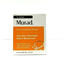 Murad City Skin Overnight Detox Moisturizer - 1.7 Oz. New fresh  - $34.64