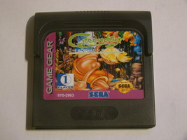 SEGA GAME GEAR - Green dog THE BEACHED SURFER DUDE! (Game Only) - $20.00