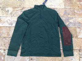$185 Polo Ralph Lauren Men's French Terry Mockneck Pullover, Green, Size 2XL. - $98.99