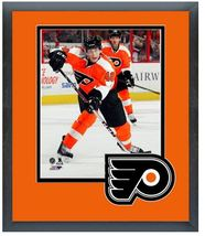 "Vincent Lecavalier 2013-2014 Flyers - 11"" x 14"" Matted and Framed Photo  - $43.95"