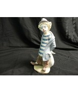 Lladro Little Traveler Clown 1986 figurine - $95.61