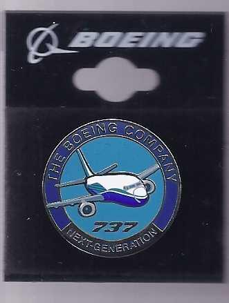 Boeing next gen pin