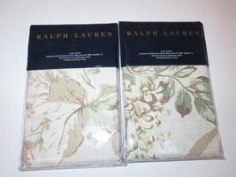 2 Ralph Lauren Annandale Lindsley Floral king shams - $112.47