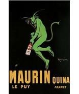 Absinthe Maurin Quina 24x36 Leonetto Cappiello Poster! - $11.14