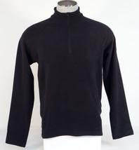 30fa71ad Eddie Bauer Black Half Zip Long Sleeve Fleece Pullover Top Shirt Men Sma...  Add to cart · View similar items