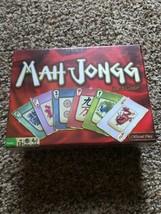 Mah Jongg Mahjongg Cards Tile Gold & Standard Edition Card Game NEW - $9.50
